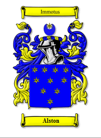 Alston Coat of Arms